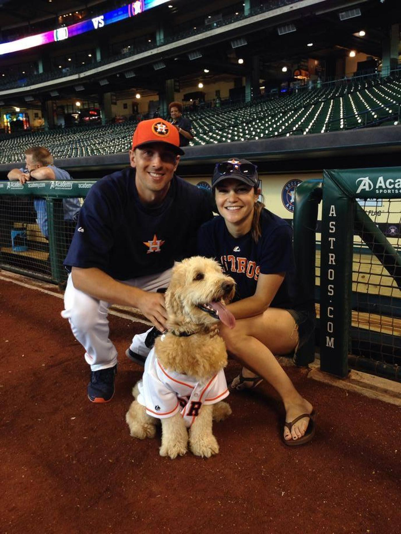The Houston Astros host a Dog Day dog-friendly baseball game.