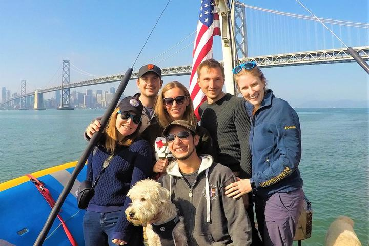Enjoy a pet-friendly cruise around San Francisco with Barbary Ghost Tours.