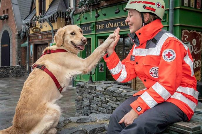 Europa-Park in Germany welcomes dogs.
