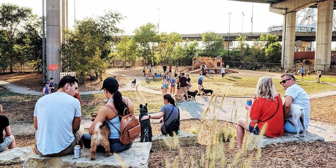 Restaurants with Attached Dog Parks
