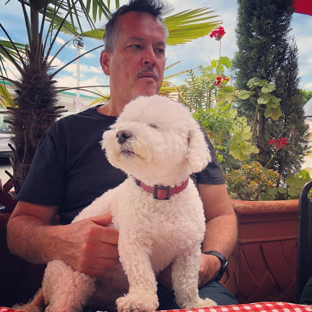 Visit the pet-friendly patio of the popular breakfast restaurant, Cafe San Jose.