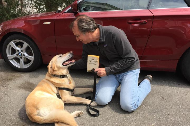 """An interview with Peter Zheutlin, author of """"The Dog Went Over The Mountain."""""""