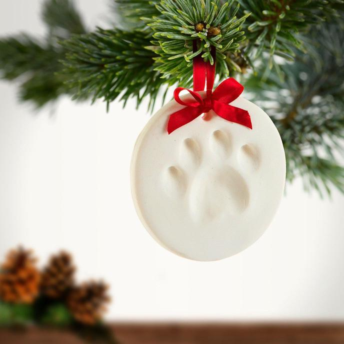 Image of  Dog Paw Ornament Gift for Pets.