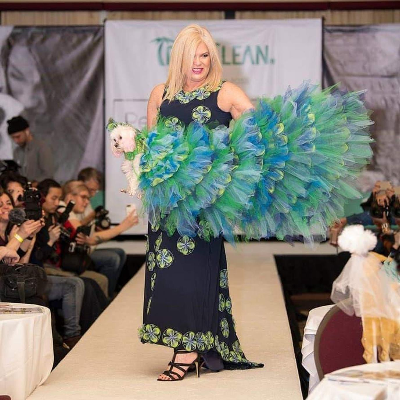 The annual New York Pet Fashion Show is the world's largest pet fashion and animal rescue benefit.