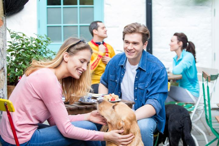 My Furry Valentine: 10 Dog-Friendly Restaurants Where You Can Bring Fido on February 14