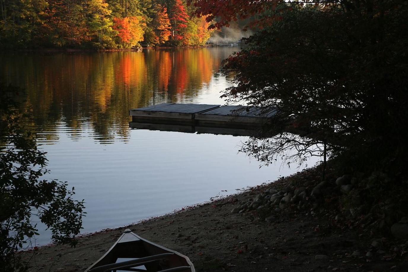 A beautiful dock at a Pet-Friendly Rental