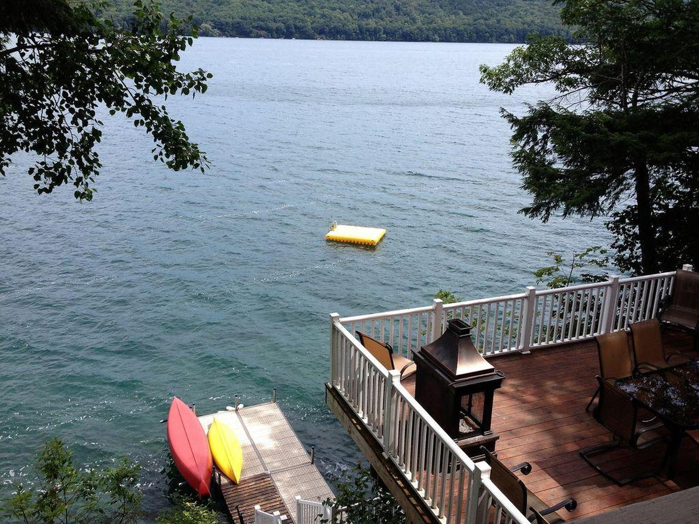 A lake-view at a Pet-Friendly Rental