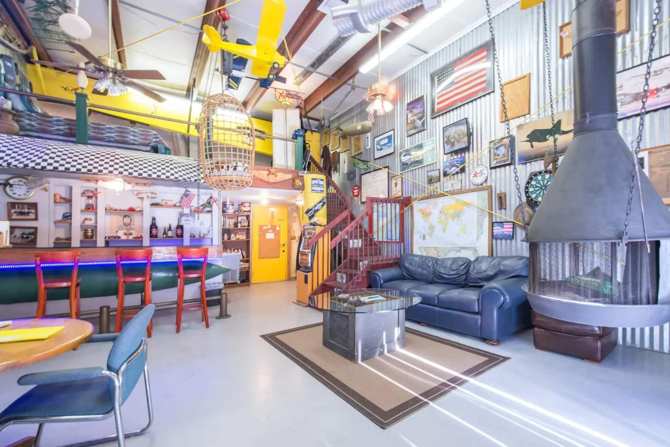 Man Cave, a Pet-Friendly Themed Vacation Rentals