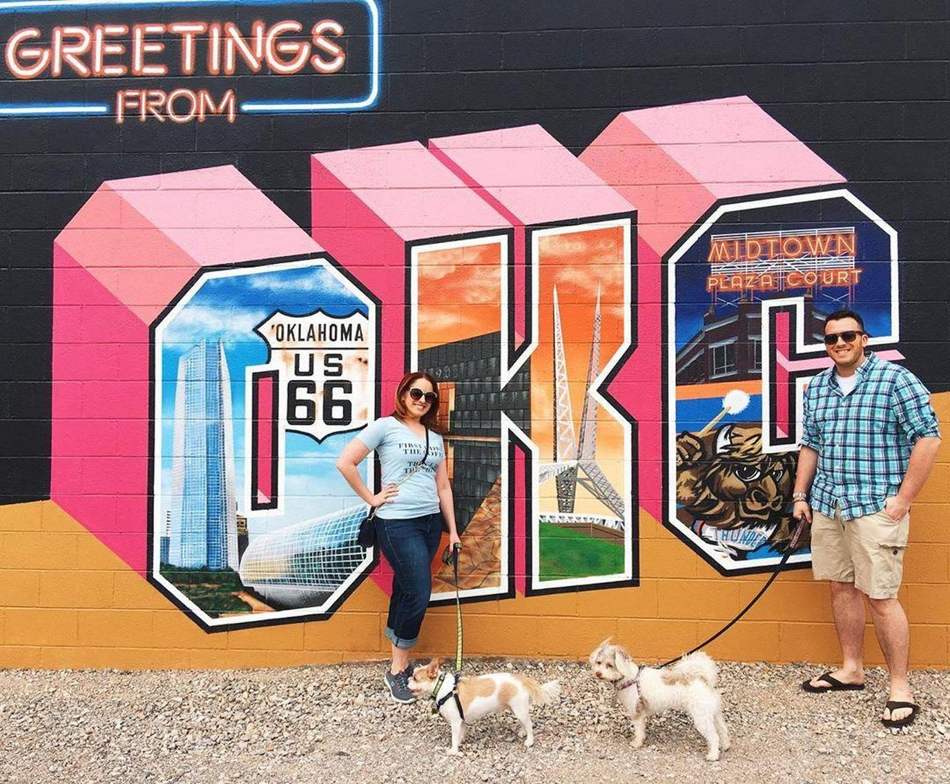 Visit pet-friendly Oklahoma City with your dog.