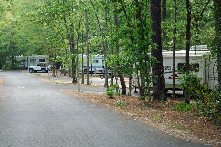 Pet Friendly Crater of Diamonds State Park Campground