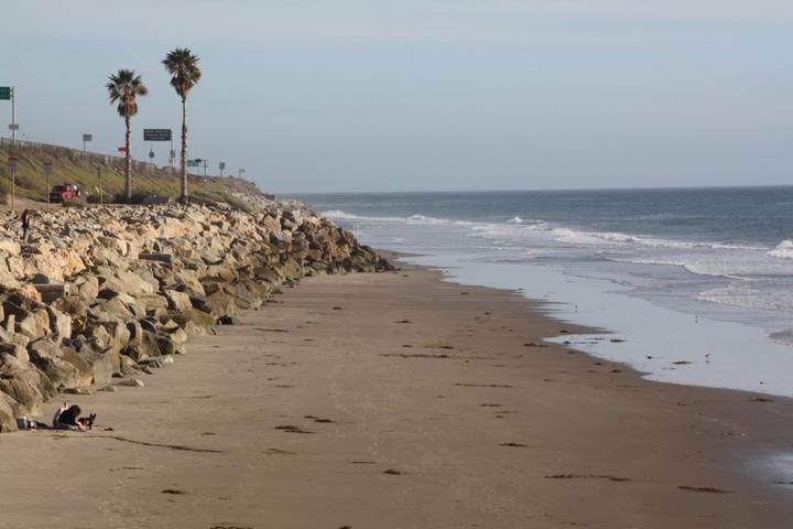 Pet Friendly Oil Piers Beach