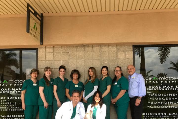 Pet Friendly Boca Midtowne Animal Hospital