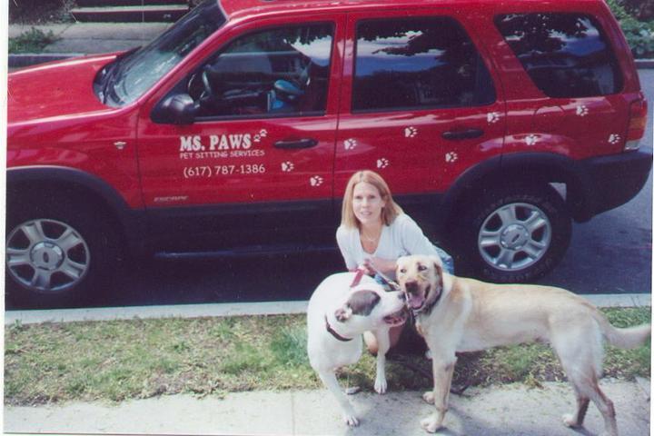 Pet Friendly MS. PAWS  Pet Sitting Services