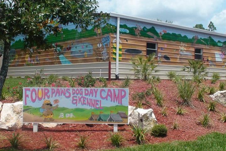 Pet Friendly Four Paws Dog Day Camp-Kennel