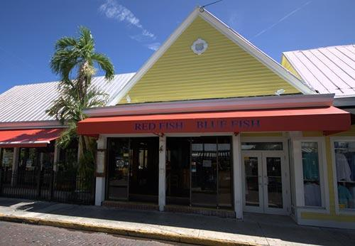 Red fish blue fish is dog friendly for Red fish blue fish key west