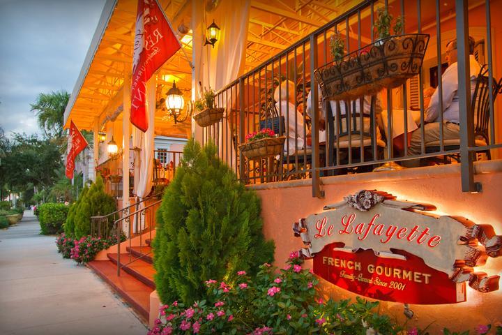 Pet Friendly Le Lafayette French Restaurant