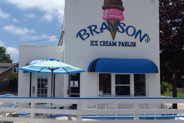 Pet Friendly Brayson's Ice Cream Parlor