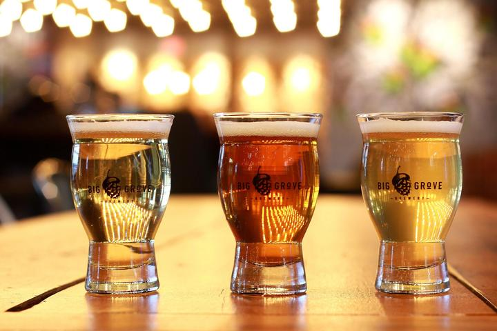 Pet Friendly Big Grove Brewery & Taproom