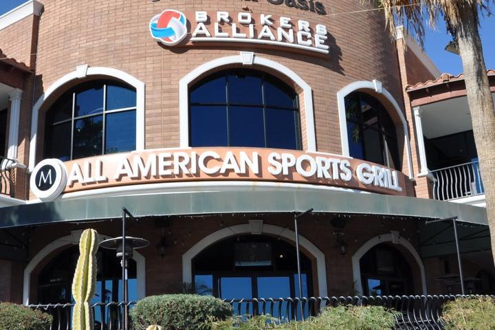 Pet Friendly M All American Sports Grill