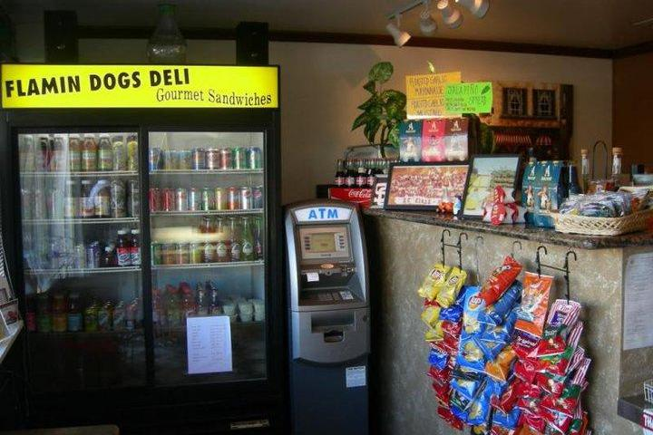 Pet Friendly Flaming Dogs Deli