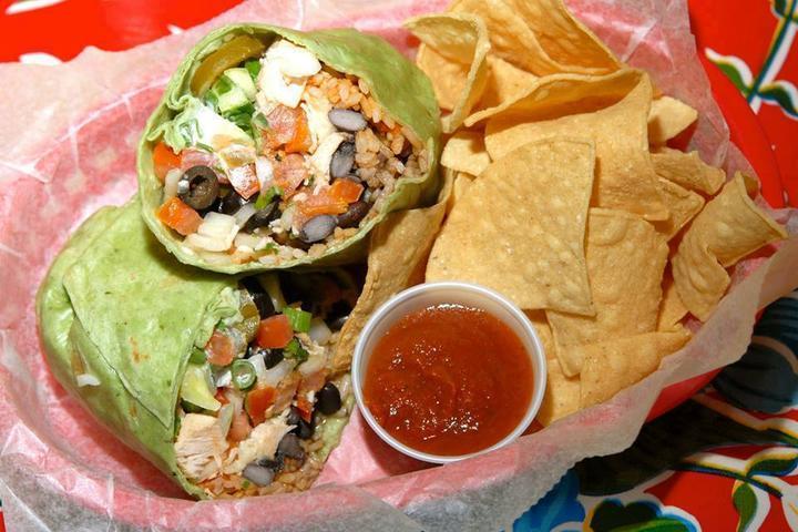Pet Friendly Blue Coast Burrito