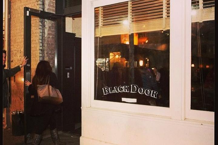 Pet Friendly Black Door