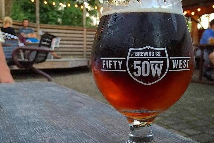 Pet Friendly 50 West Brewing Co.