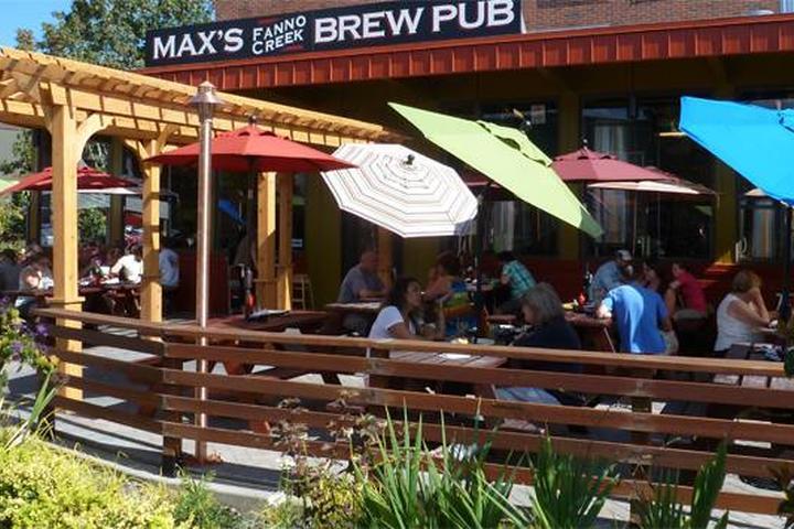 Pet Friendly Max's Fanno Creek Brew Pub