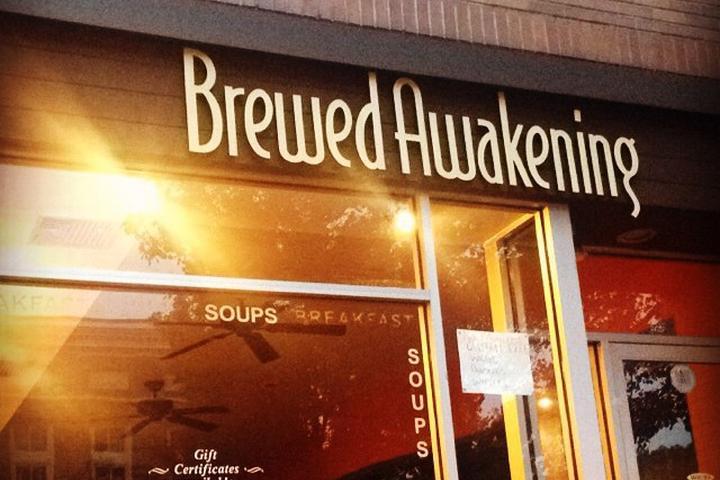 Pet Friendly Brewed Awakening Coffeehouse