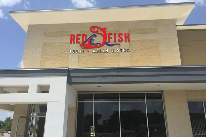 Pet Friendly Red Fish Sushi Asian Bistro