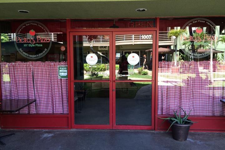 Pet Friendly Pietro's Pizza Kauai