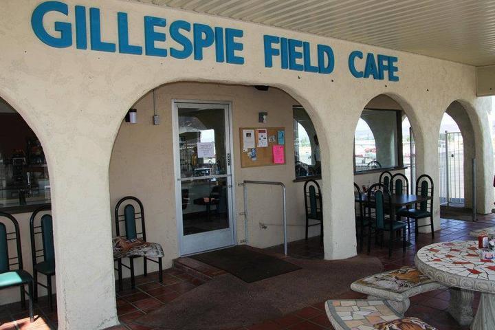 Pet Friendly Gillespie Field Cafe