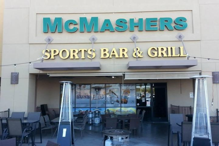 Pet Friendly McMashers Sports Bar and Grill