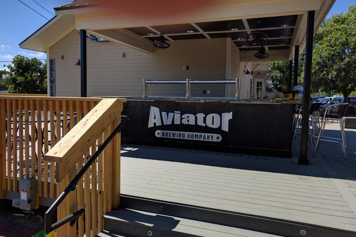 Pet Friendly Aviator Brewing Company