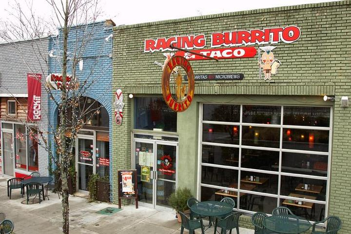 Pet Friendly Raging Burrito & Taco