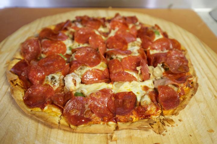 Pet Friendly Valento's Pizza and Hoagies