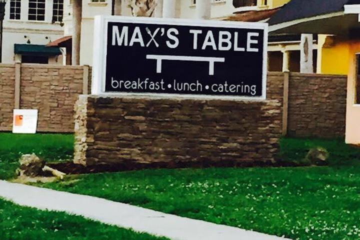 Pet Friendly Max's Table