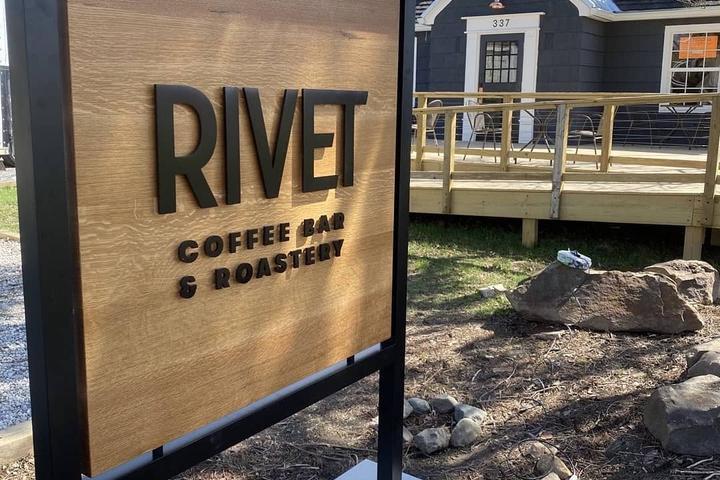 Pet Friendly RIVET Coffee Bar and Roastery