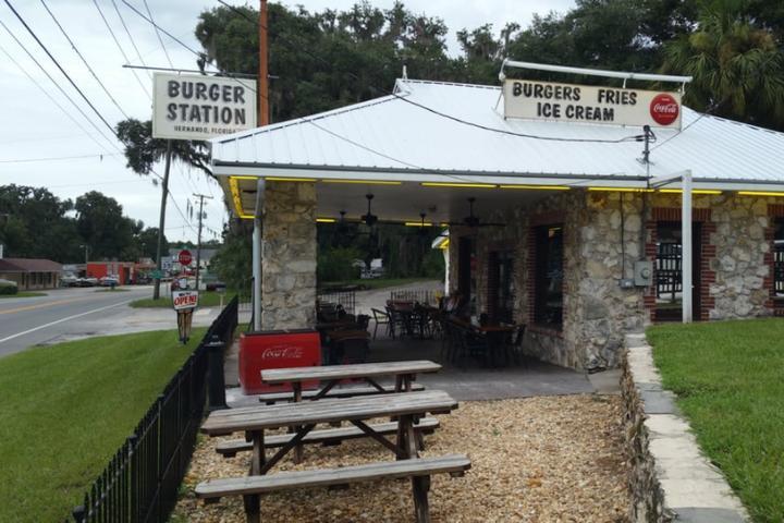 Pet Friendly Burger Station