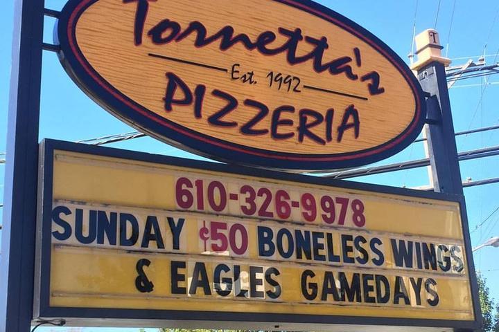Pet Friendly Tornetta's Pizzeria