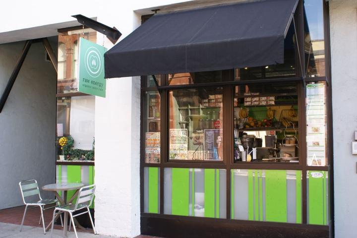 Pet Friendly Raw Energy Organic Juice Cafe
