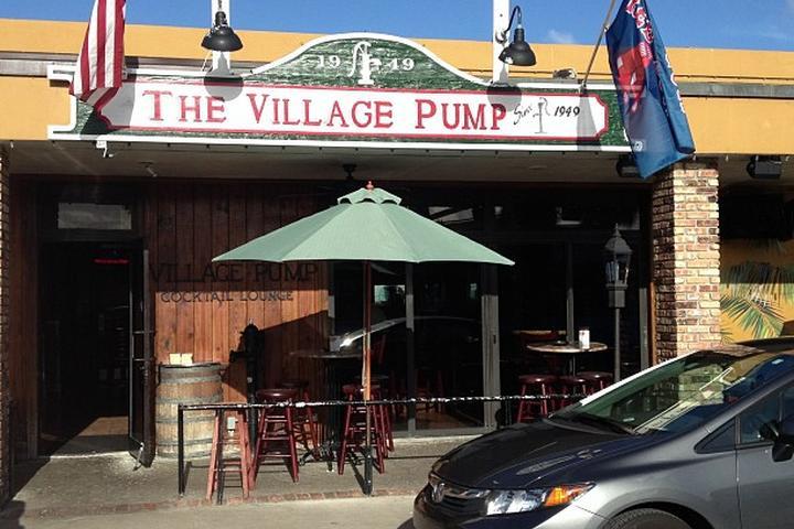 Pet Friendly Village Grill and Village Pump