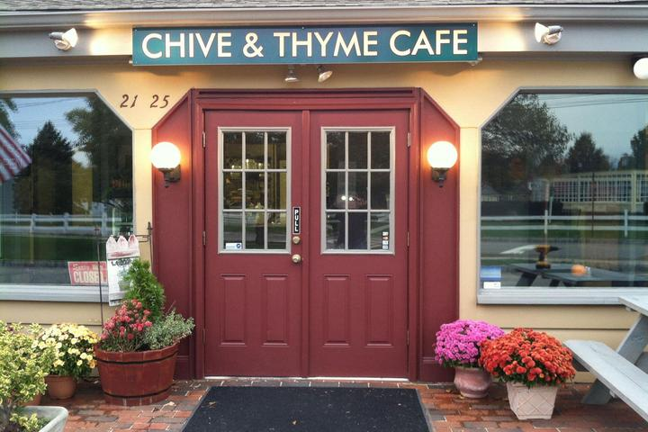Pet Friendly Chive & Thyme Cafe