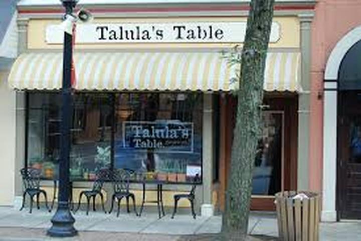 Pet Friendly Talula's Table