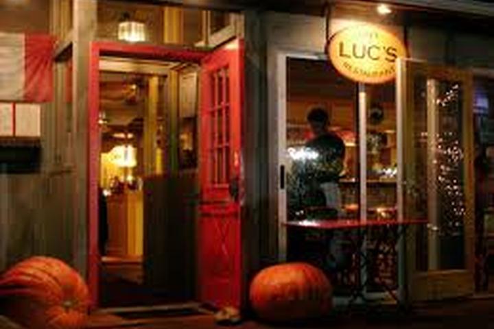 Pet Friendly Luc's Cafe