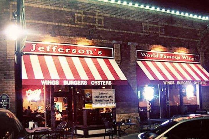 Pet Friendly Jefferson's Restaurant