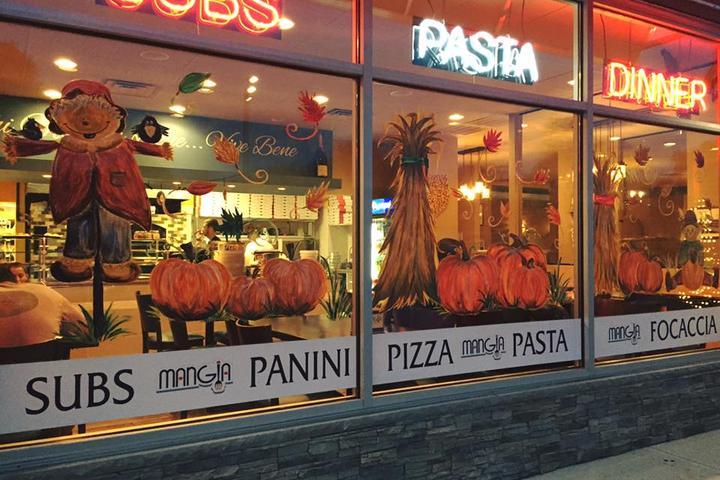 Pet Friendly Mangia Brick Oven Pizza