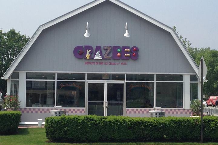 Pet Friendly Crazees Ice Cream Parlor