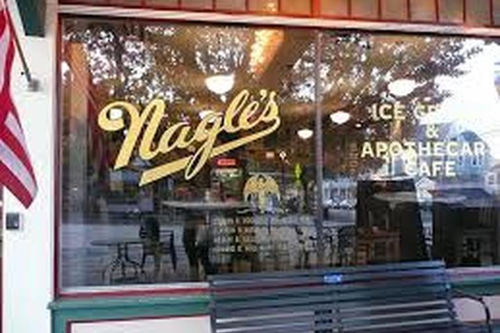 Pet Friendly Nagle's Ice Cream & Apothecary Cafe