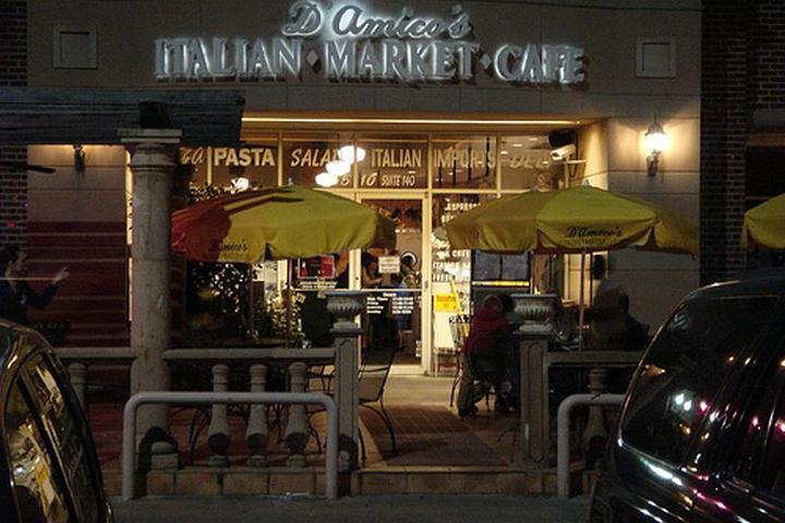 Pet Friendly D'Amico's Italian Market Cafe